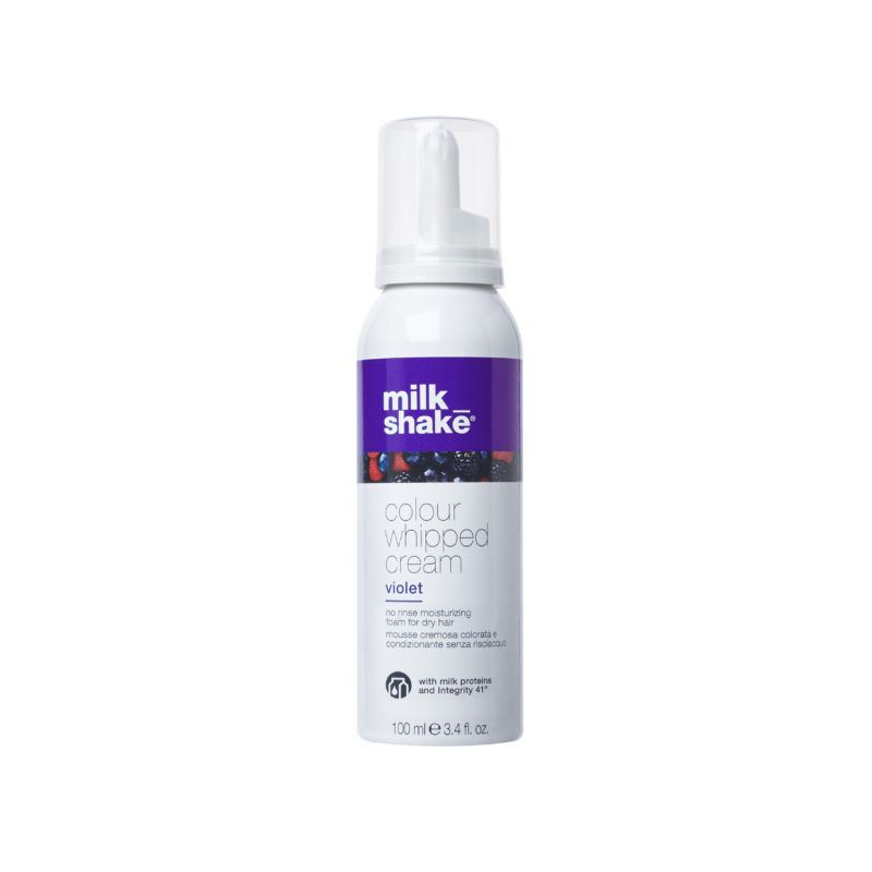 Milk Shake colour whipped cream - Violet